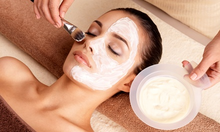 Pumpkin Spice Facial with Optional Revitalight at Amazing Grace Spa (Up to 51% Off)