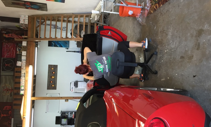 Dad & Daughter Window Tinting - East Naples: Window Tinting for a Two-Door Car from Dad and Daughter Window Tinting (45% Off)
