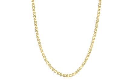 2mm Love Chain in 10K Yellow Gold