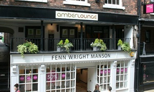 Amber Lounge .: Up to £150 to Spend on Food and Drinks at Amber Lounge (Up to 50% Off)
