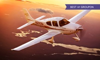 A 30 minutes Flying Lessons and 30 minutes observing in the rear for One or Two at Adventure 001, 10 Locations (46% Off)