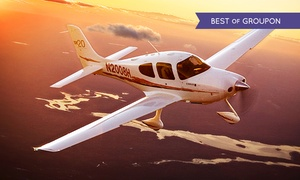 Adventure 001: A 30 minutes Flying Lessons and 30 minutes observing in the rear for One or Two at Adventure 001, 10 Locations (46% Off)