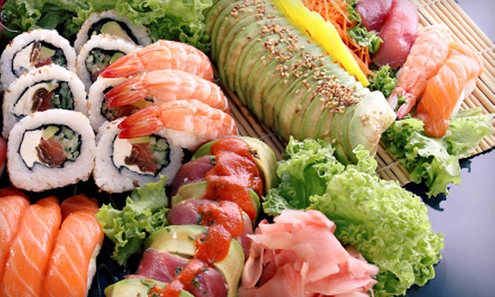 Mizu Japanese Sushi Restaurant - Parma: Sushi and Japanese Food at Mizu Japanese Sushi Restaurant (50% Off). Two Options Available.
