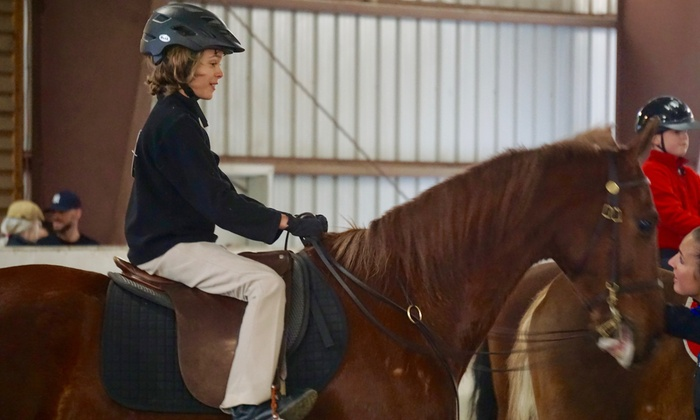 Blue Moon Stables - Briar Chapel: Three Horseback-Riding Lessons at Blue Moon Stables (50% Off)