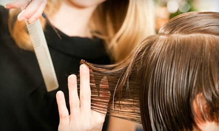 The Men's Hair Salon & Spa - Aliso Viejo: $20 for a Men's Haircut with Neck Shave, Scalp Massage, and Beer at The Men's Hair Salon & Spa ($40 Value)