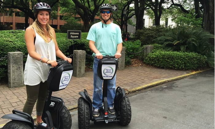 Segway Adventures - Adventure Tours in Motion: One, Two, or Four Tickets for Savannah Segway Movie Tour at Segway Adventures (Up to 44% Off)