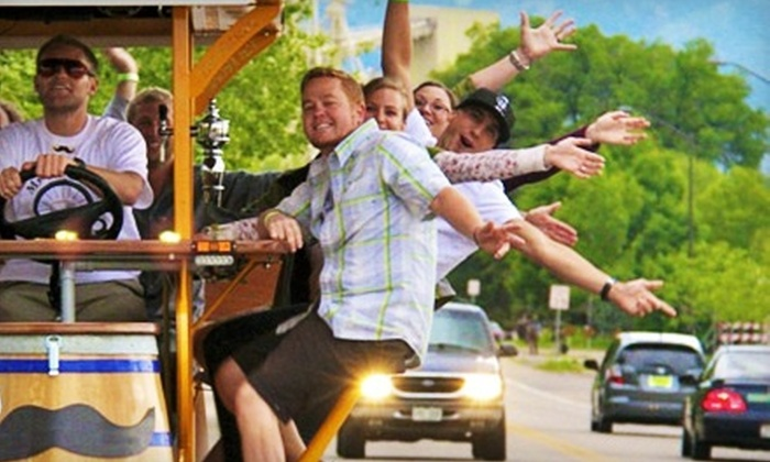 MyHandleBar - Downtown Colorado Springs: Two-Hour Bar-Bike Tour and Pub Crawl for Up to 16 from MyHandleBar (Half Off)