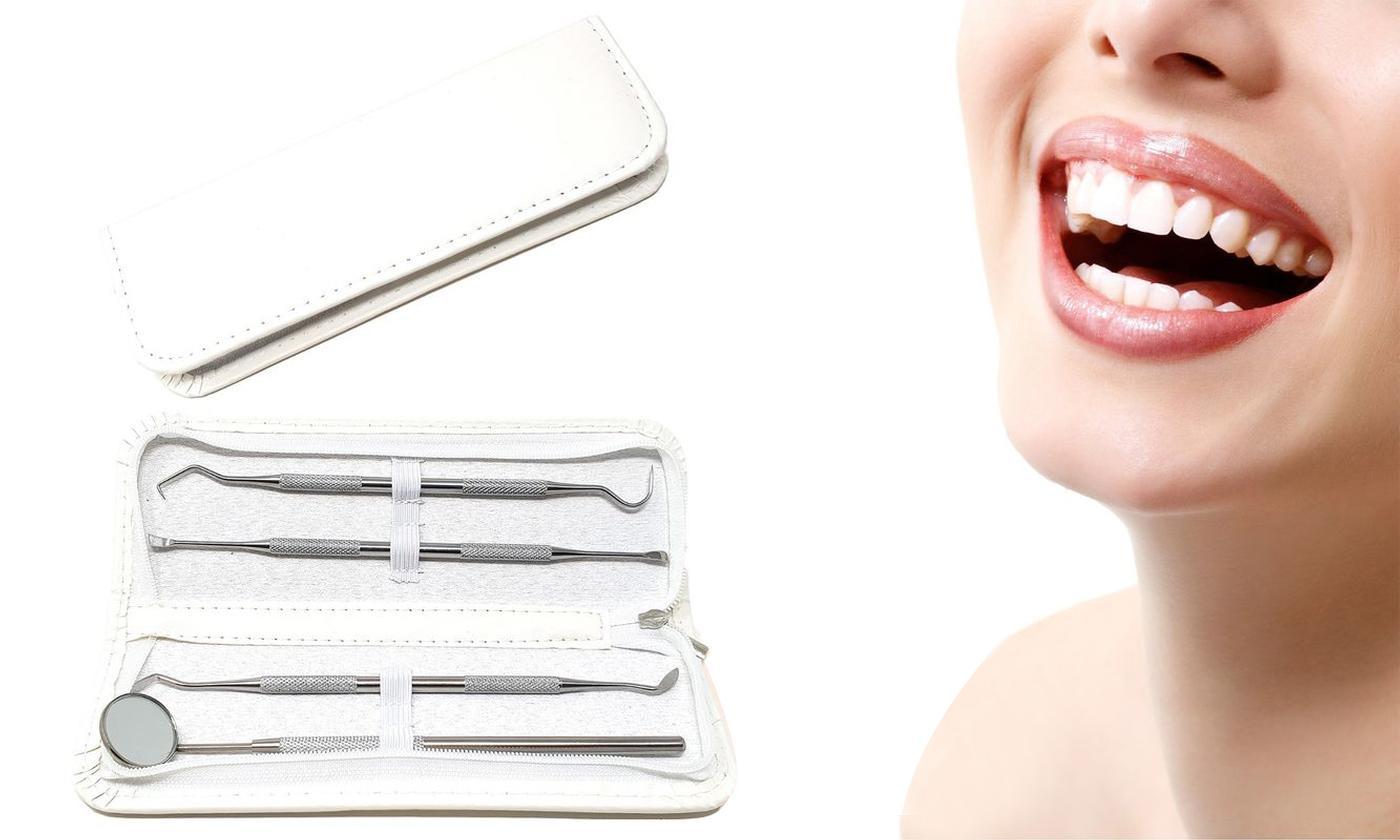 One, Two or Three Four-Piece Dental Hygiene Kit