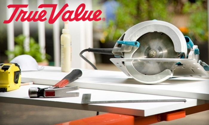 Howard Brothers True Value Hardware - Multiple Locations: $26 for $50 Worth of Hardware Supplies at Howard Brothers True Value Hardware