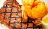 The Silver Flame Steakhouse - Tulsa: Steak and Shrimp Dinner for Two, Four, or Six at The Silver Flame (Up to 51% Off)