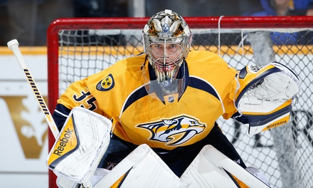Nashville Predators Hockey Game at Bridgestone Arena on March 24 or 31 at 7 p.m. (Up to 58% Off)