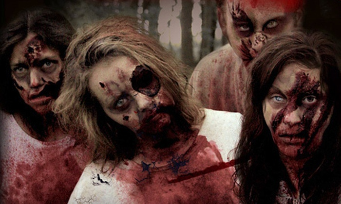 Forest of Fear - Caledonia: Haunted-Forest Adventure for Two at Forest of Fear (Half Off). Two Options Available.