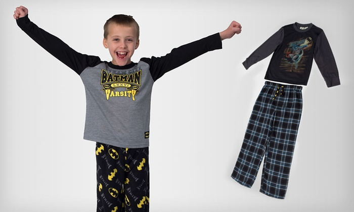 Boys' Two-Piece Superhero Pajama Sets: $18 for a DC Comics Boys' Pajama Sets (Up to 55% Off). Multiple Styles Available. Free Shipping and Free Returns.