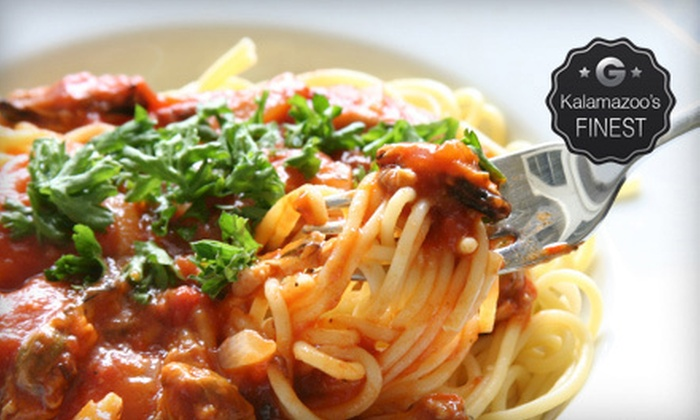 Mangia Mangia - Central Business District: $20 for $40 Worth of Italian Cuisine at Mangia Mangia