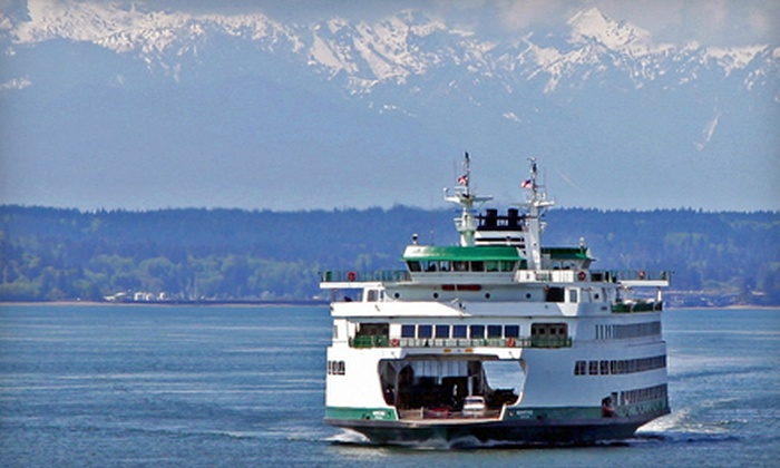 Kitsap Tours - Central Business District: Bus Tour of Bainbridge Island or Bainbridge Island and the Kitsap Peninsula from Kitsap Tours (51% Off)
