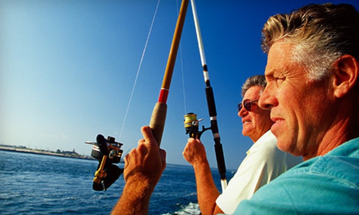 Captain's Reel Deep Sea Fishing - Newport: 12-Hour Halibut Fishing Trip for One or Two from Captain's Reel Deep Sea Fishing (Up to 53% Off)