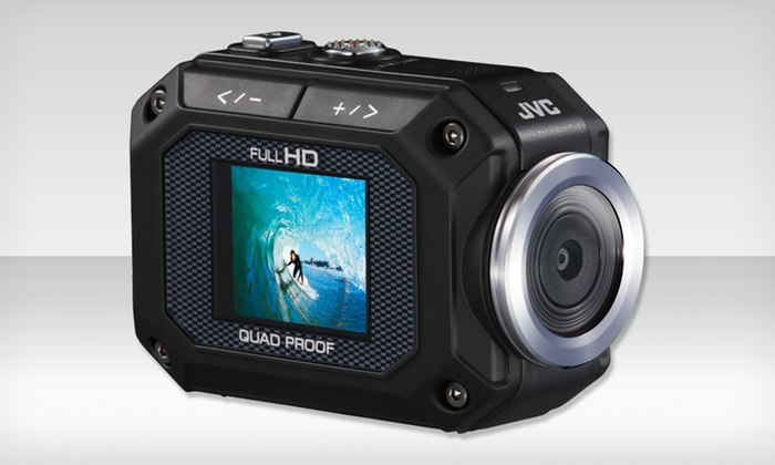 JVC GC-XA1 Waterproof and Shockproof HD Action Video Camera: $149.99 for a JVC GC-XA1 HD Action Camera (Manufacturer Refurbished) ($199.95 List Price). Free Shipping and Returns.