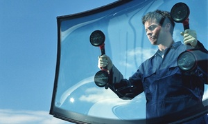 TX Discount Auto Glass: Mobile or In-Shop Windshield Replacement Or In-Shop Chip Repair at TX Discount Auto Glass (Up to 90% Off)