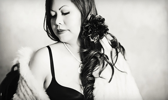 Kristine Wahner Photography - San Marcos: 45- or 60-Minute Boudoir Photo Shoot with Makeup, Hairstyling, and Prints at Kristine Wahner Photography (Up to 60% Off)