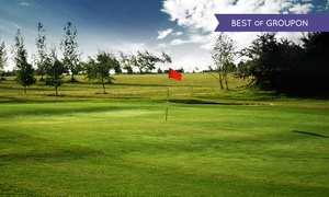 South Cerney Golf Course: 18 Holes of Golf and Breakfast Roll for Two or Four at South Cerney Golf Course (Up to 60% Off)