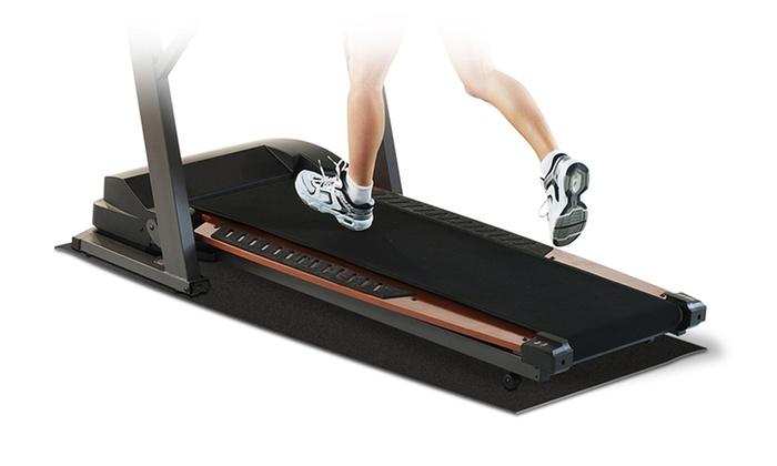 Pro-Form Black Exercise Equipment Mat