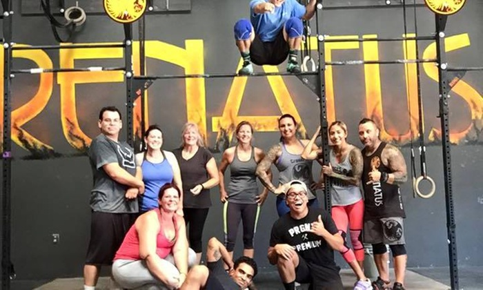 CrossFit Renatus - Multiple Locations: Four-Week Diet and Exercise Program at CrossFit Renatus (65% Off)