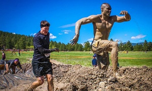 Insanity Mud Run: Insanity Mud Run on August 22 or 23 for One or Two at Music Mountain Amphitheater (Up to 67% Off)