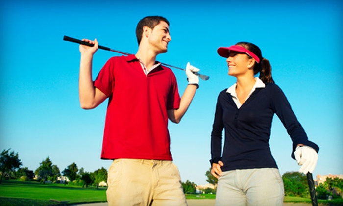Choice Tee - Spring: One or Three Private One-Hour Golf Lessons Including Range Balls at Choice Tee (Up to 54% Off)