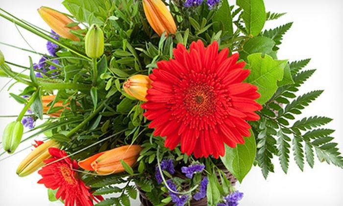 Pink Unique Florist - San Jose: Bouquets and Floral Arrangements at Pink Unique Florist (Half Off). Two Options Available.
