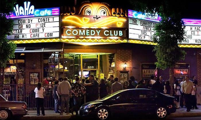 Ha Ha Café Comedy Club - Ha Ha Café Comedy Club: Standup Show and Appetizers, Plus 4 Tickets to a Future Show at Ha Ha Café Comedy Club (Up to 78% Off)