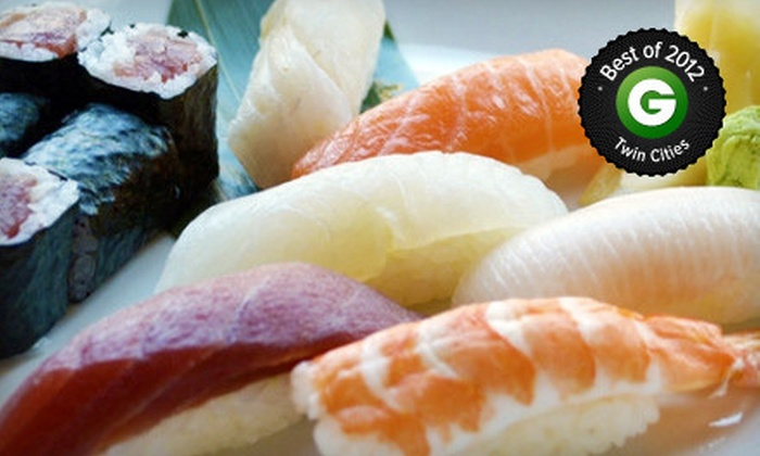 Nami Sushi - Warehouse District: $20 for $40 Japanese Cuisine for Dinner at Nami Sushi