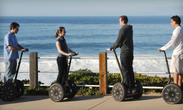 We Love Tourists - Multiple Locations: Choice of Two-Hour Segway Tour of Downtown San Diego or La Jolla for 1, 2, or 4 from We Love Tourists (Up to 75% Off)