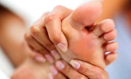 One or Three Hand and Foot Reflexology Sessions with Footbaths at NewVision Natural Health (Up to 56% Off)