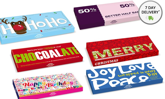 Holiday Chocolate Bar Collections: Holiday Chocolate Bar Collections (35 Total Oz.). Multiple Collections Available.