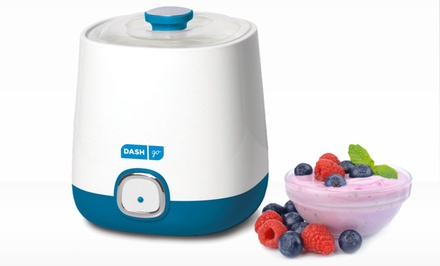 Dash Go Bulk Yogurt Maker in Blueberry or Strawberry Color. Free Returns.