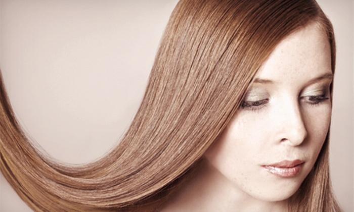 Shampoo Hair Salon - Pleasantburg: Brazilian Blowout with Option for Haircut at Shampoo Hair Salon (Up to 72% Off)