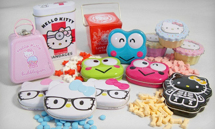 Hello Kitty Candy Bundle: $24 for a Hello Kitty Candy Bundle ($77.87 List Price)
