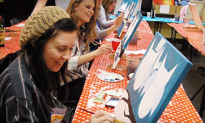 Paint Along Nashville - Paint Along Nashville: Level 1 BYOB Painting Class for One or Two at Paint Along Nashville (Half Off)