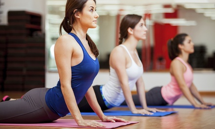 $59 for Ten Yoga Classes at The Pilates Place (56% Off)