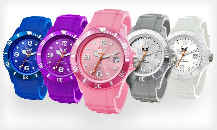 Ice Watches: Unisex Ice Watches (Up to 62% Off). Two Styles and Multiple Colors Available. Free Shipping.