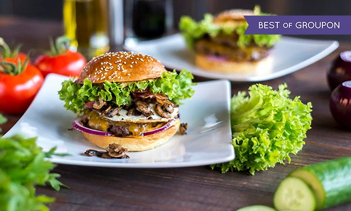 burger nach wahl inkl getr nk burgerkultour restaurant groupon. Black Bedroom Furniture Sets. Home Design Ideas
