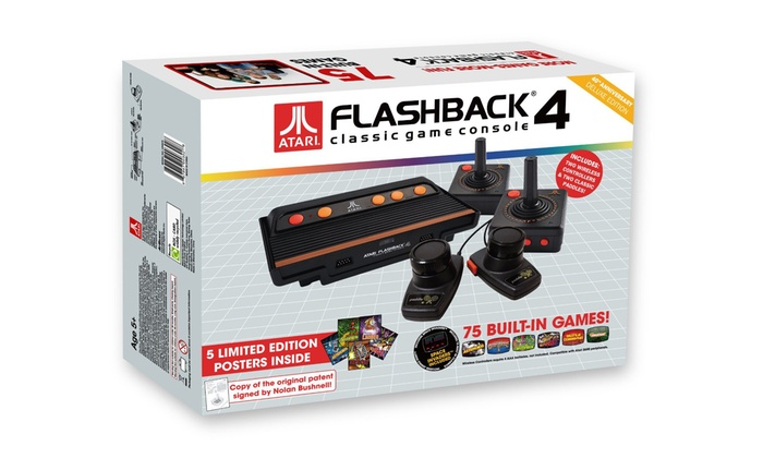 Atari classic game console groupon goods - Atari flashback 3 classic game console ...
