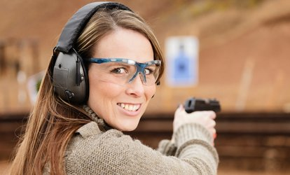 image for <strong>Range</strong> Package for Two or Four with Rentals and Ammunition at Orange County Indoor Shooting <strong>Range</strong> (29% Off)