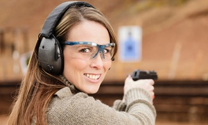 Orange County Indoor Shooting Range: Range Package for Two or Four with Rentals and Ammunition at Orange County Indoor Shooting Range (21% Off)