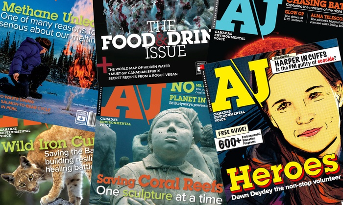"""Alternatives Journal - Vancouver: C$16 for a One-Year Subscription to """"Alternatives Journal"""" (C$35 Value)"""