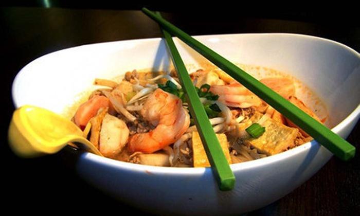 Cafe de Bangkok - Downtown: Thai Cuisine at Cafe de Bangkok (Up to 53% Off). Two Options Available.