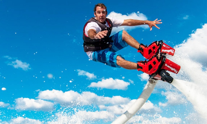 Shaka Flyboarding - Greenport: 30-Minute Flyboarding Session for One at Shaka Flyboarding (Up to 30% Off)