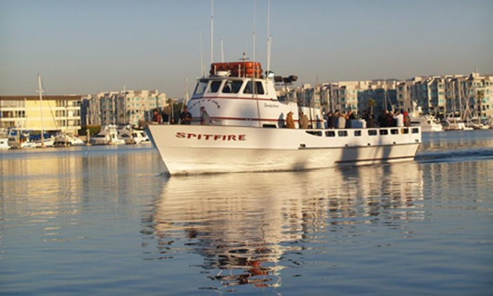 Spitfire Sportfishing - Marina del Rey: $32 for Three-Quarter Day Sport Fishing Trip with Food from Spitfire Sportfishing in Marina del Rey ($69 Value)