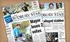 The Sudbury Star - Sudbury: $114.99 for 52-Week Monday–Saturday Subscription to The Sudbury Star ($231.34 Value)