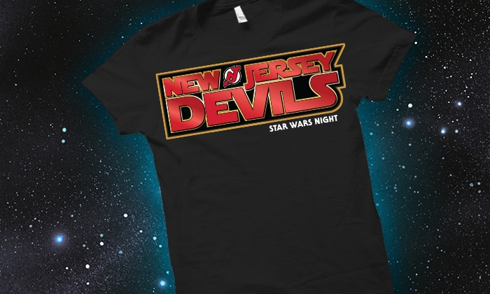 New Jersey Devils vs. Detroit Red Wings - Prudential Center: New Jersey Devils vs. Detroit Red Wings Game with a T-Shirt on Star Wars Night, Friday, December 11, at 7 p.m.